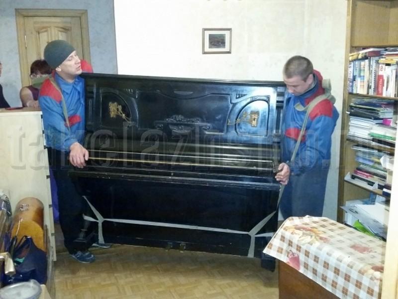 перевозка пианино с грузчиками