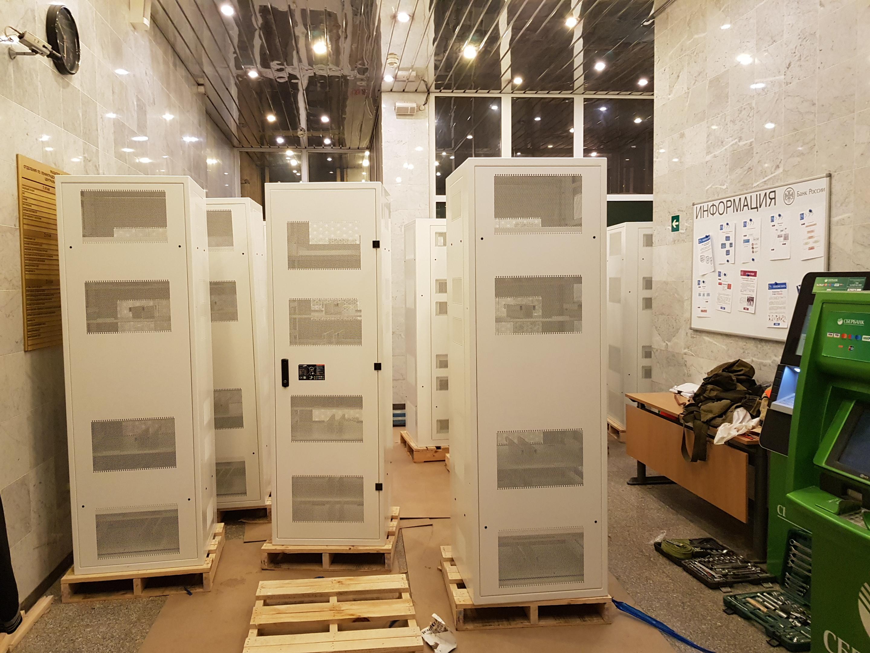 Такелаж серверного оборудования в СПб