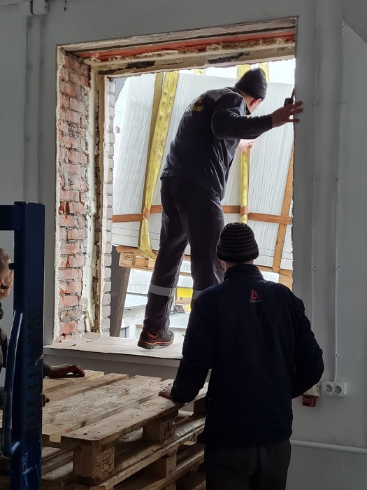 Подъем серверного оборудования в СПб